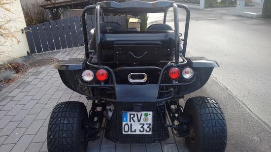 Buggy Umbau auf Motorradmotor mit Auto -Getriebe zuerst wurde eine ...