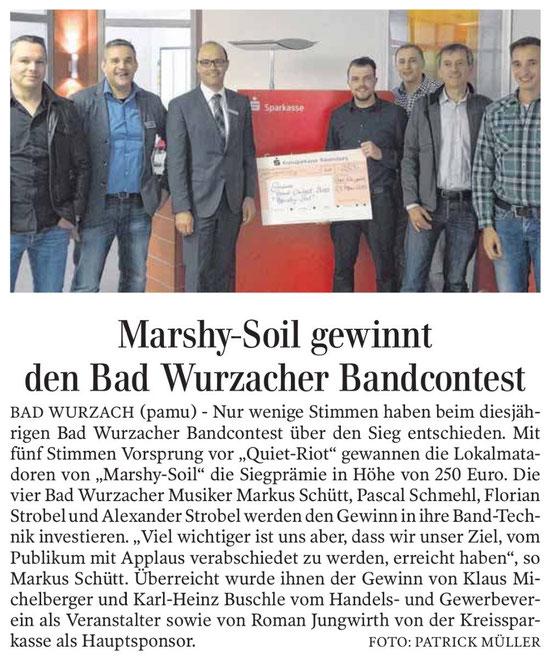 Quelle: Schwäbische Zeitung, 22.05.2015