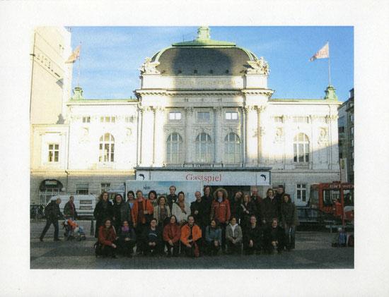 """Teilnahme am Chorwettbewerb """"Hamburg singt"""" im Schauspielhaus"""