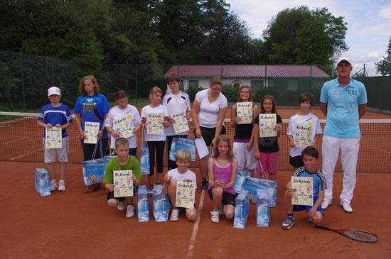 Jugendturnier am 06.+07.08.2011