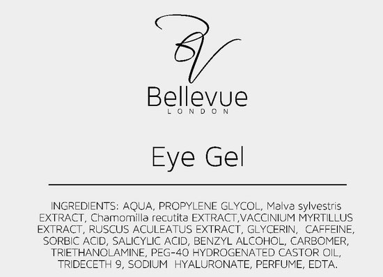 Eye Gel Ingredients