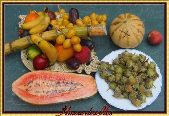 C'EST LE NIRVANA LA,  QUE DU BONHEUR CES SUPERBES ET DELICIEUX FRUITS!!!
