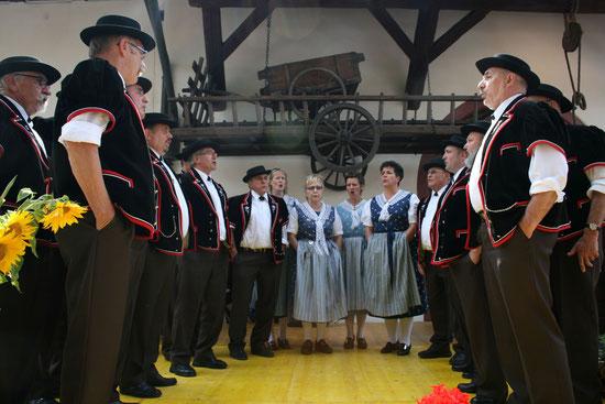 Auftritt anlässlich Buurehuusstubete 2014 in Muttenz