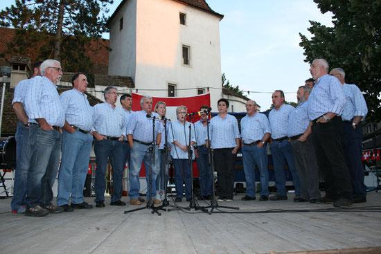 Bundesfeier 2014 z'Muttenz uf em Dorfplatz