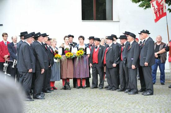 Empfang Muttenz nach dem Eidg. Jodlerfest 2011 in Interlaken