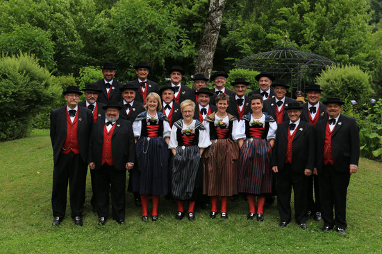 Gruppenbild Eidg. Jodlerfest 2014 Davos/Klosters