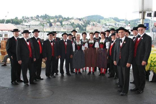 Eidgenössisches Jodlerfest in Luzern 2008