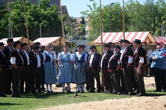 Festakt 99. BL-Kantonalen Schwingfest in Muttenz 19. Mai 2014