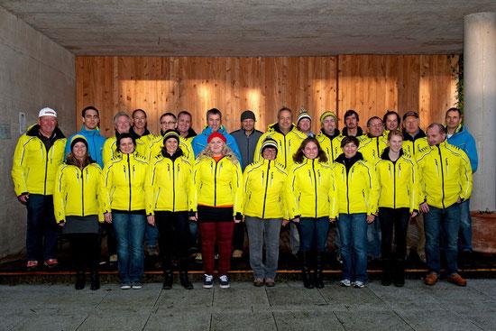 Instruktoren- und ÜL Team des WSV Nofels - 9.11.2013