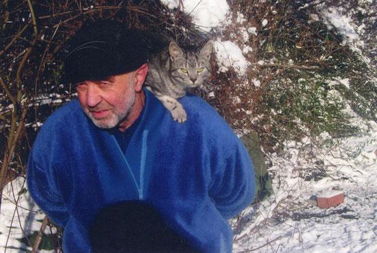 Franz Wild ist ein sehr engagierter Betreuer einer Futterstelle. Wir sind ihm für seine großartige Hilfe sehr dankbar.
