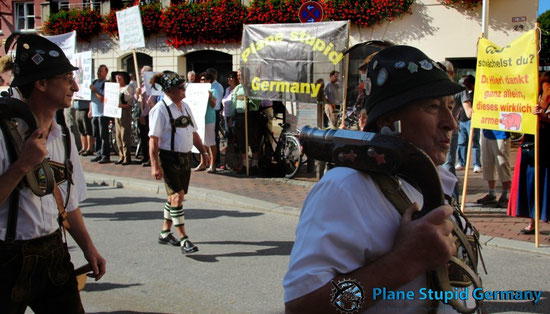 Demo in Tracht