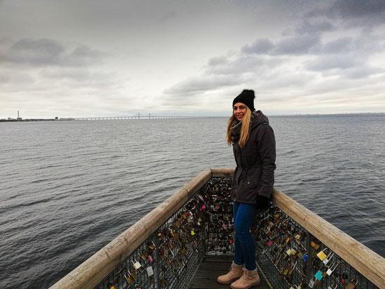 Öresundbrücke in Schweden