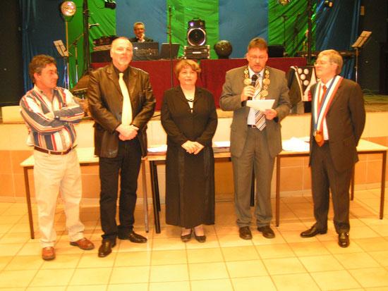 40-jähriges Partnerschaftsjubiläum 2008 in Pouilly-s/L