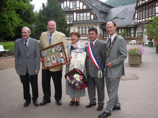 35-jähriges Partnerschaftsjubiläum 2003 in B M E
