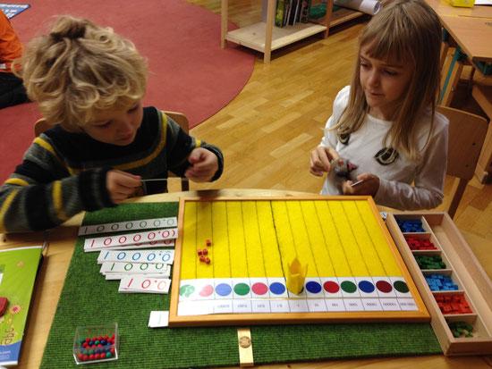 Dezimalbrett Montessori