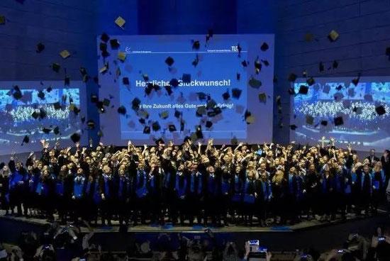 TUM管理学院毕业典礼(图片来自网络)