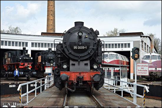 Ob die kräftige Tenderlokomotive betriebsfähig aufgearbeitet wird ist derzeit nicht bekannt. Man darf gespannt sein