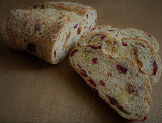 Cranberry notenbrood.