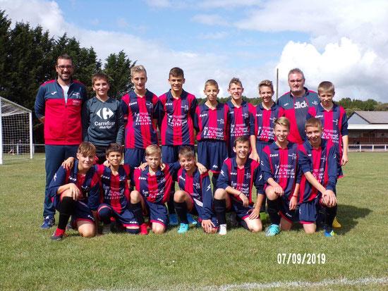 Crédit photo : Olivier Beuzit. L'équipe U14-U15