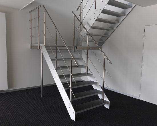 aluminium designtrap licht model