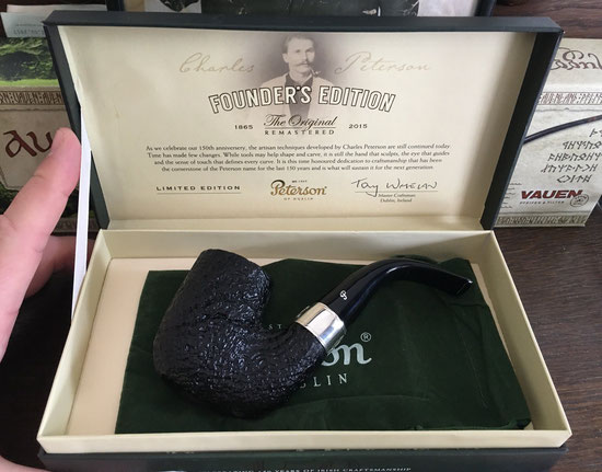 Peterson Founder Edition Limited Edition Pfeife - Sand, Männerquatsch Folge #11, Podcast