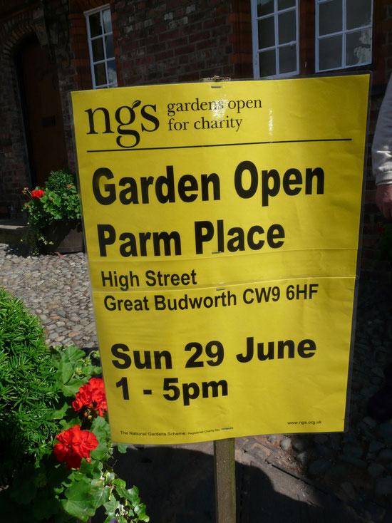 Offene Gärten wunderbar!!!!!!!