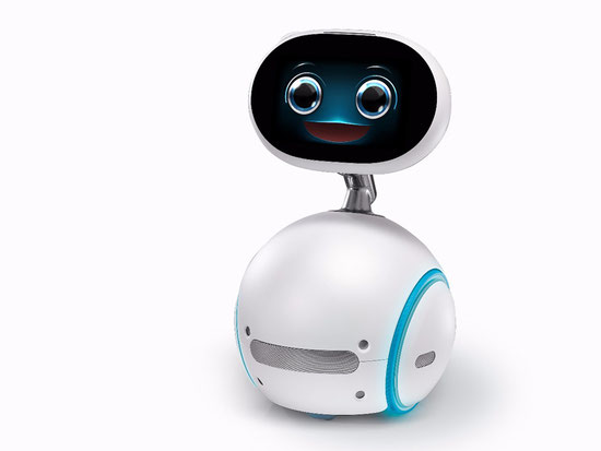 台湾メーカーのASUSが公開した、家庭用お手伝いロボットのZenBo