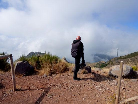 Madeira - Aussichtspunkt über den Wolken 1000 Meter über dem Meeresspiegel