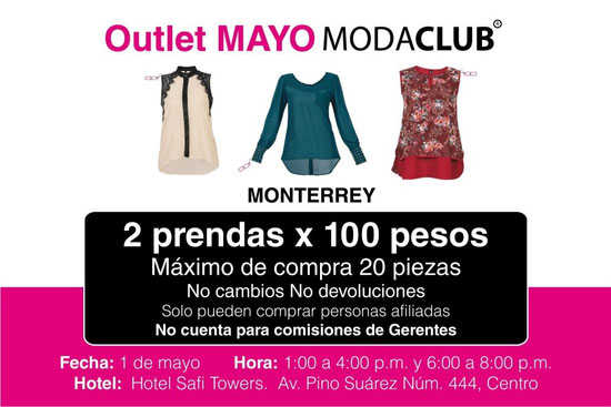 29755c661aa98 GRAN Outlet Ropa de Marca de Mujer (moda club) - Ropa de Moda de ...