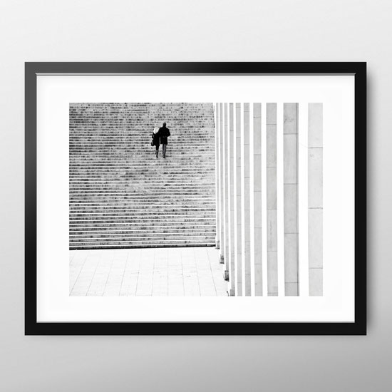 Photographic Art Print 'Couple on Stairs' by PASiNGA