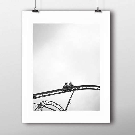 Street Photography 'Roller Coaster' by PASiNGA