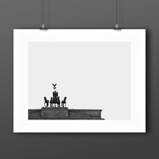 Minimal Art Print 'Brandenburger Tor' by PASiNGA