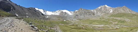 Märchenhafte Bergwelt. Hier fühlen wir uns wie zu Hause.