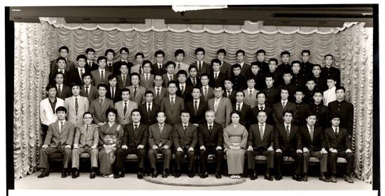 1985年4月 中央大学空手道部和空会創立20周年記念(中野サンプラザ)