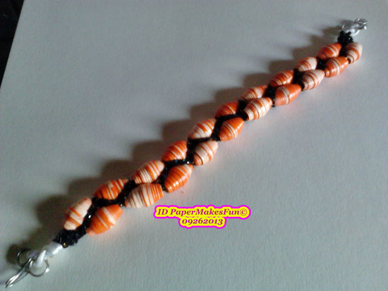 Paper - Beads - Bracelet