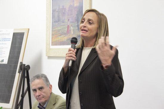 Il saluto di Claudia Maria Travicelli, consigliere comunale di Assisi.
