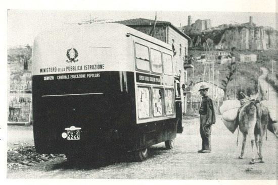 Il centro mobile in visita nelle campagne umbre: incontri con il passato!