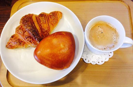 出来立てパン(#^.^#)美味しい