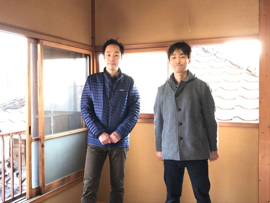 初対面、安田さんとツーショット!