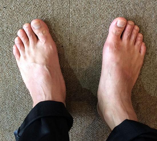 じゃん!!!DAIZOの足です(笑)(#^.^#)