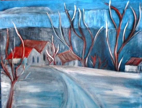 Winter im Schöcklgebiet