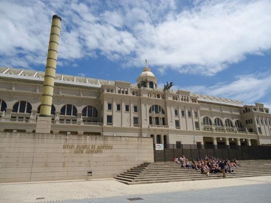 Достопримечательности Монжуика - Олимпийский стадион Барселоны