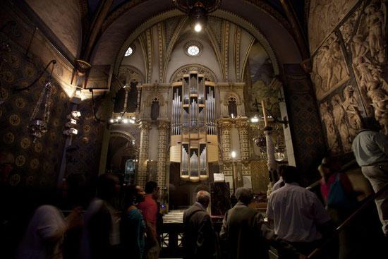 Орган базилики Монсеррат