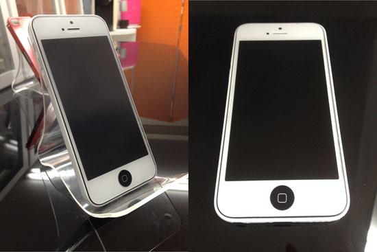 iPhone5Cフロントパネルカスタム