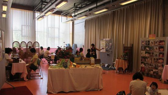 子育てフェスタ2015   BFRP東海 参加風景 バッチフラワー心を癒す花の療法