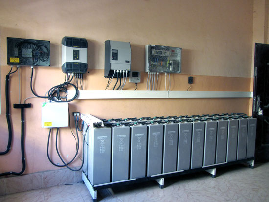 7 kWp Off-Grid System for Vocational Training Center / Sudan
