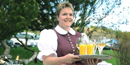 Fest feiern Restaurant Koernlisegg Egg bei Einsiedeln