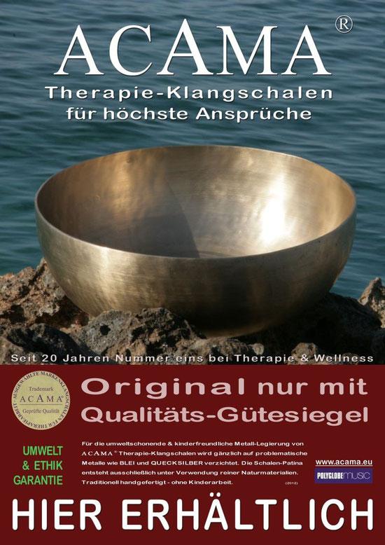Acama Therapie Klangschalen