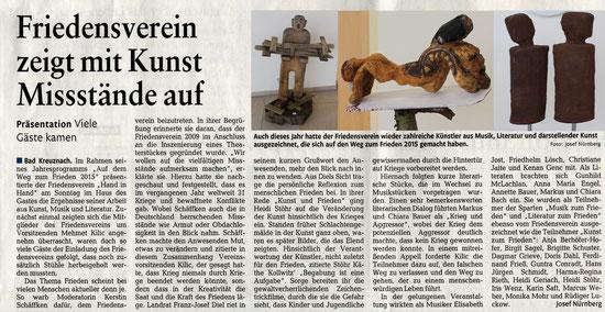 veröffentlicht im Öffentlichen Anzeiger Bad Kreuznach