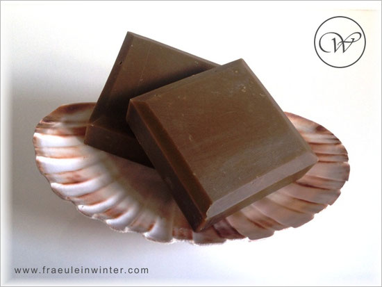 Coffee soap - Handmade soap by Fräulein Winter